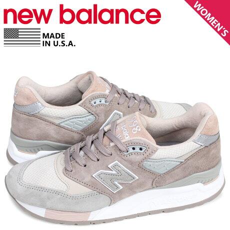 ニューバランス new balance 998 スニーカー レディース Bワイズ MADE IN USA ピンク W998AWA [予約商品 3/11頃入荷予定 新入荷]