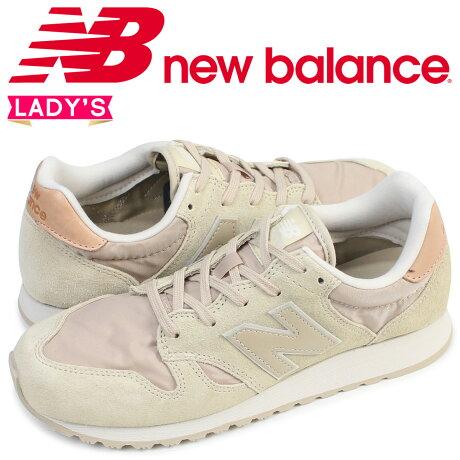 ニューバランス 520 レディース new balance スニーカー WL520BS Bワイズ 靴 ベージュ