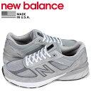 ニューバランス new balance 990 スニーカー メンズ Dワイズ MADE IN USA グレー M990G