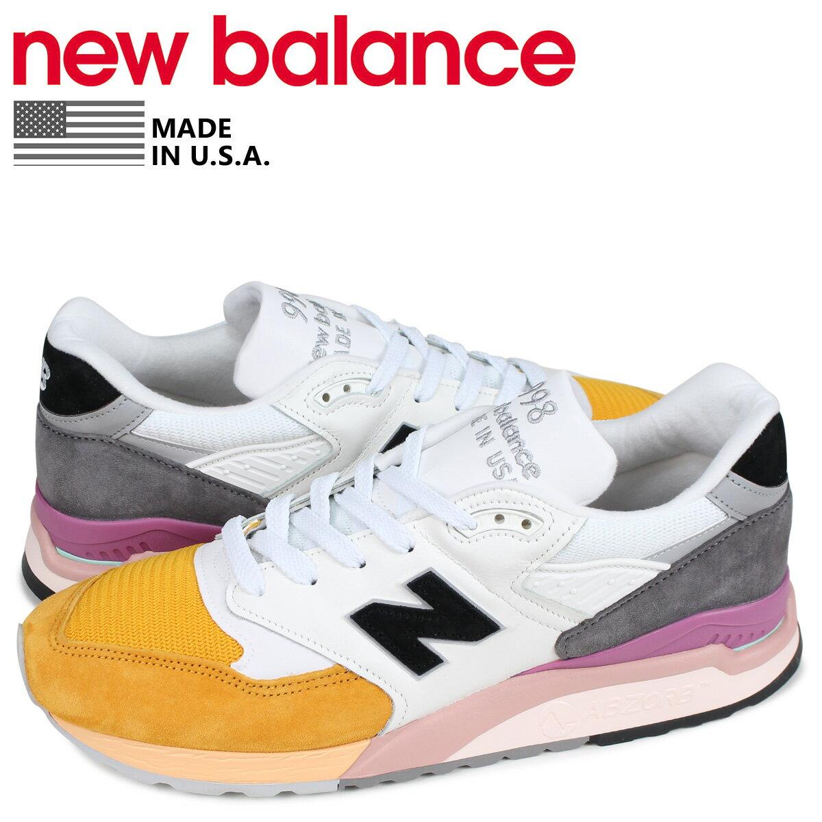 メンズ靴, スニーカー 2000OFF new balance 998 D MADE IN USA M998PSD