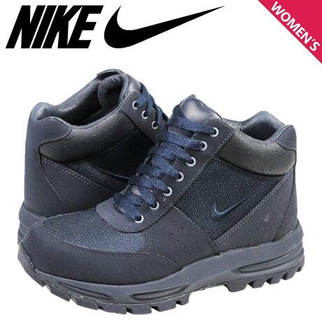 ナイキ NIKE スニーカー ブーツ レディース GO AWAY ACG TRAIL BOOT GS 375509-401 靴 ネイビー 【9000足】【CLEARANCE】【返品不可】