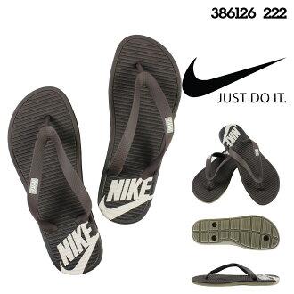 耐吉NIKE涼鞋鉗子涼鞋SOLARSOFT THONG 386126-222棕色人
