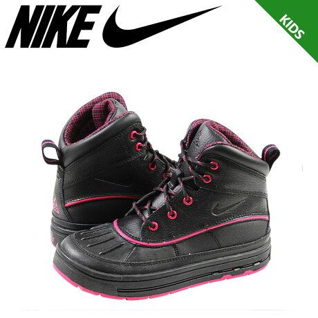ナイキ NIKE スニーカー ブーツ キッズ ACG GIRLS WOODSIDE 2 HIGH PS 524877-001 靴 ブラック 【9000足】【CLEARANCE】【返品不可】