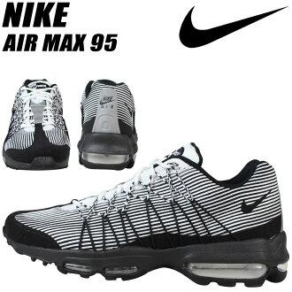耐克 Nike Air Max 運動鞋空氣馬克斯 95 超提花空氣馬克斯 95 749771-101 男鞋黑色
