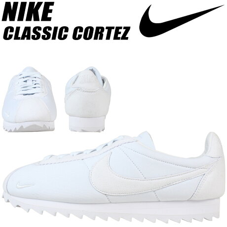 ナイキ NIKE コルテッツ クラシック スニーカー CLASSIC CORTEZ SHARK LOW 810135-110 メンズ 靴 ホワイト