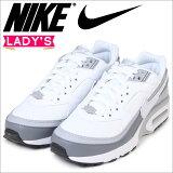 ナイキNIKEエアマックスレディーススニーカーNIKEAIRMAXBWエアフォース820344-005靴ホワイト