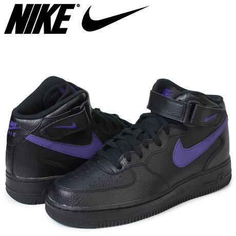 ナイキ NIKE エアフォース1 MID スニーカー AIR FORCE 1 07 315123-044 メンズ 靴 ブラック