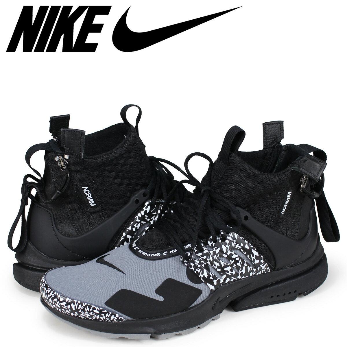 メンズ靴, スニーカー NIKE ACRONYM AIR PRESTO MID AH7832-001