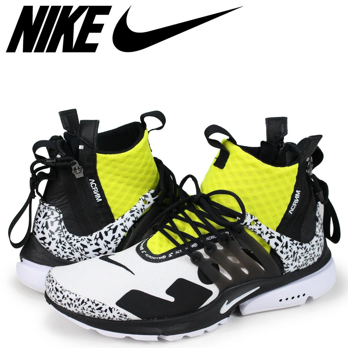 メンズ靴, スニーカー NIKE ACRONYM AIR PRESTO MID AH7832-100