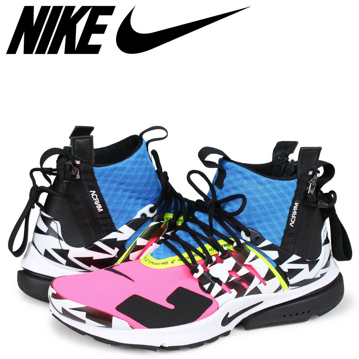 メンズ靴, スニーカー NIKE ACRONYM AIR PRESTO MID AH7832-600