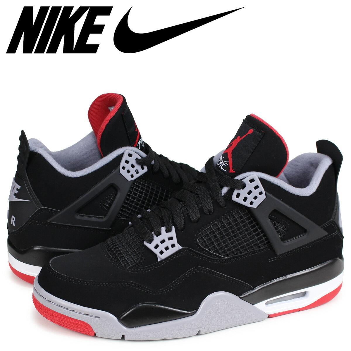 メンズ靴, スニーカー NIKE AIR JORDAN 4 RETRO BRED 4 308497-060