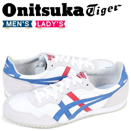 オニツカタイガー Onitsuka Tiger セラーノ SERRANO メンズ レディース スニーカー D109L-0142 TH109L-0142 ホワイト [3/5 再入荷]