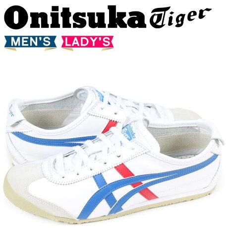 オニツカタイガー Onitsuka Tiger メキシコ 66 MEXICO 66 スニーカー メンズ レディース DL202-0146 THL202-0146 ホワイト [予約商品 3/5頃入荷予定 追加入荷]