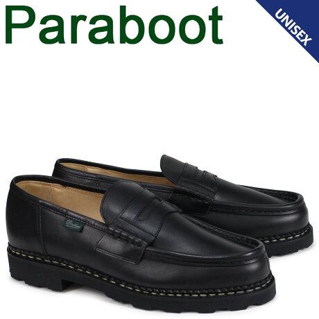 パラブーツ PARABOOT ランス REIMS シューズ ローファー メンズ レディース ブラック 099412 [予約商品 10/10頃入荷予定 追加入荷]