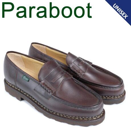 パラブーツ PARABOOT ランス シューズ ローファー メンズ レディース REIMS ブラウン 099413 [ 3/19 追加入荷]