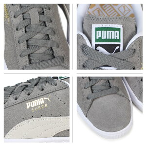プーマPUMAスエードクラシックスニーカーSUEDECLASSIC+352634-66メンズレディース靴グレー[12/14新入荷]