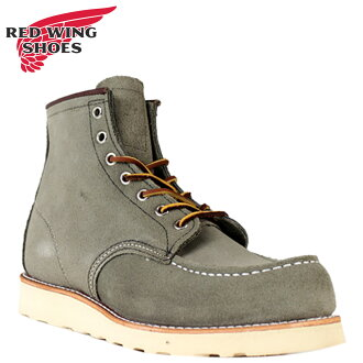 Redwing RED WING モカシントゥ boots 8139 6inch Moc Toe D wise leather men's Irish setter Made in USA Red Wing