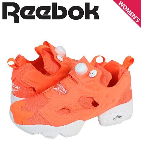 リーボック ポンプフューリー スニーカー Reebok INSTAPUMP FURY TECH メンズ レディース M46319 靴 オレンジ