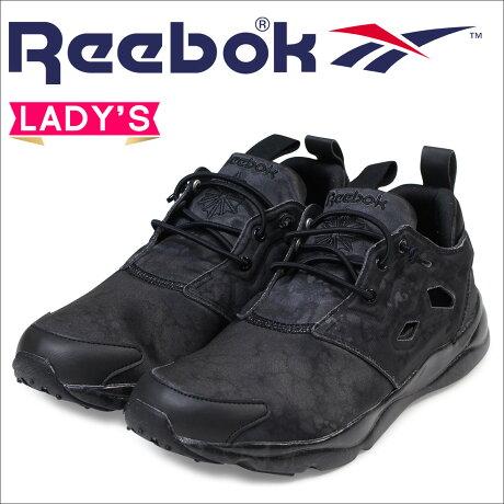 リーボック フューリーライト スニーカー Reebok FURYLITE STONE レディース AR2659 靴 ブラック