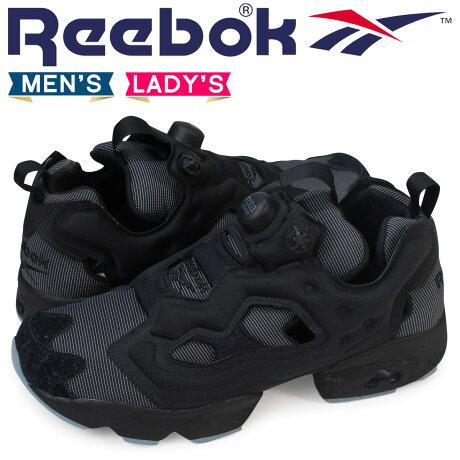 リーボック ポンプフューリー スニーカー Reebok INSTAPUMP FURY MTP BD1502 メンズ レディース ブラック
