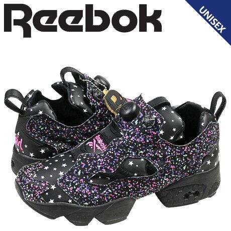 リーボック ポンプフューリー スニーカー Reebok x-girl INSTAPUMP FURY OG メンズ レディース 20周年 コラボ M43197 靴 ブラック
