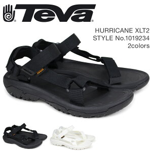 Teva テバ サンダル メンズ ハリケーン XLT2 HURRICANE ブラック ホワイト 1019234 [3/10 再入荷]