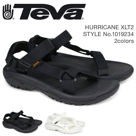 Teva テバ サンダル メンズ ハリケーン XLT2 HURRICANE ブラック ホワイト 1019234 [4/18 新入荷]
