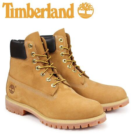 ティンバーランド ブーツ メンズ 6インチ Timberland MENS 6-INCH PREMIUM WATERPROOF BOOTS 10061 [9/5 追加入荷]