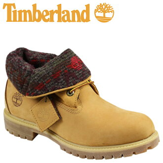 Timberland Timberland icons roll top with Woolrich boot ICON ROLL TOP WITH WOOLRICH BOOTS nubuck men's work boots 6141A wheat [12 / 17 new in stock] [regular]