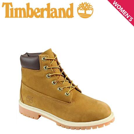 ティンバーランド レディース ブーツ 6インチ Timberland JUNIOR 6INCH PREMIUM BOOT 14949 プレミアム 防水