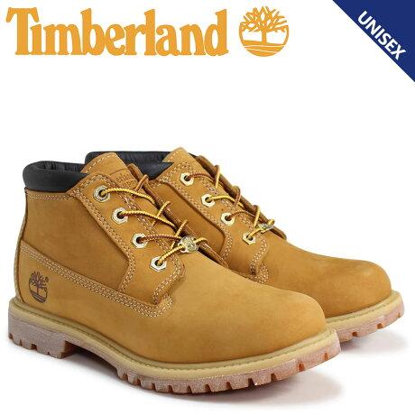 ティンバーランド Timberland チャッカ ブーツ レディース メンズ NELLIE CHUKKA DOUBLE WATERPLOOF BOOTS Wワイズ 防水 ウィート 23399 [予約商品 3/19頃入荷予定 追加入荷]