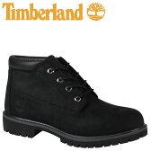 ティンバーランド チャッカ メンズ Timberland ブーツ ICON WATERPROOF CHUKKA 32085 Mワイズ 防水 ブラック