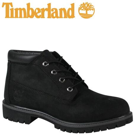 ティンバーランド ブーツ チャッカ メンズ Timberland ICON WATERPROOF CHUKKA 32085 Mワイズ 防水 ブラック [7/26 追加入荷]