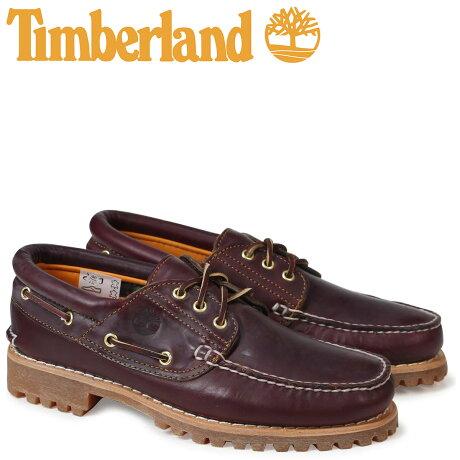 ティンバーランド デッキシューズ メンズ Timberland HERITAGE 3 EYE CLASSIC LUG 50009