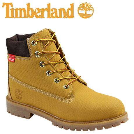 ティンバーランド レディース ブーツ 6インチ Timberland JUNIOR 6INCH PREMIUM SCUFFPROOF BOOT 6596R プレミアム 防水