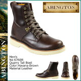 アビントン ABINGTON ティンバーランド Timberland クウォーリー トール ブーツ 6760R ハバナブラウン Quarryville Tall Boot レザー メンズ 【S50】【返品不可】