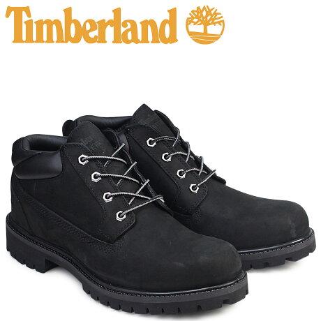 ティンバーランド ブーツ メンズ Timberland オックスフォード CLASSIC OXFORD WATERPLOOF BOOTS 73537 Wワイズ クラシック ブラック 防水 [7/25 追加入荷]