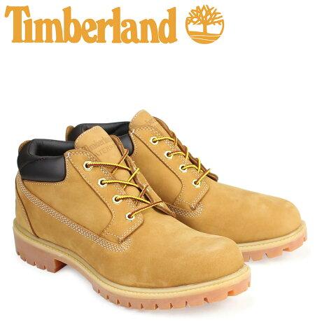 ティンバーランド ブーツ メンズ Timberland オックスフォード PREMIUM WATERPLOOF OXFORD 73538 Wワイズ プレミアム ウィート 防水 [7/25 追加入荷]