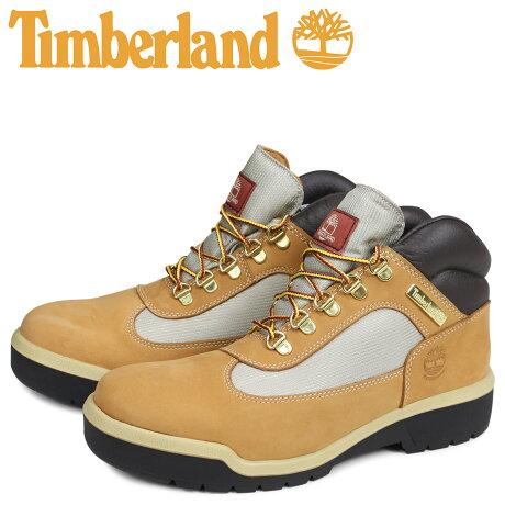 ティンバーランド Timberland フィールド ブーツ メンズ FIELD BOOT F/L WP 防水 ウィート ベージュ A18RI [予約 1月下旬 追加入荷予定]