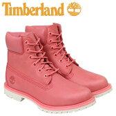 ティンバーランド レディース 6インチ Timberland ブーツ 6INCHI WOMEN'S 6-INCH BOOTS A1AQK Wワイズ 防水 ピンク [予約商品 5/1頃入荷予定 追加入荷]