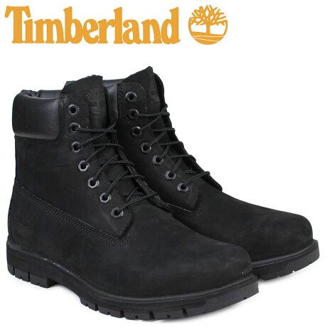 ティンバーランド ブーツ メンズ 6インチ Timberland RADFORD 6INCH PREMIUM BOOT A1JI2 ウォータープルーフ Wワイズ 防水 ブラック [7/26 追加入荷]