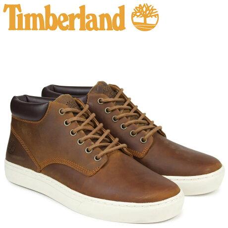 ティンバーランド スニーカー メンズ Timberland ADVENTURE 2.0 CUPSOLE CHUKKA A1JUN Wワイズ ブラウン