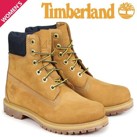 ティンバーランド ブーツ レディース 6インチ Timberland 6-INCH PREMIUM BOOTS A1SI1 Wワイズ ウィート [9/5 新入荷]
