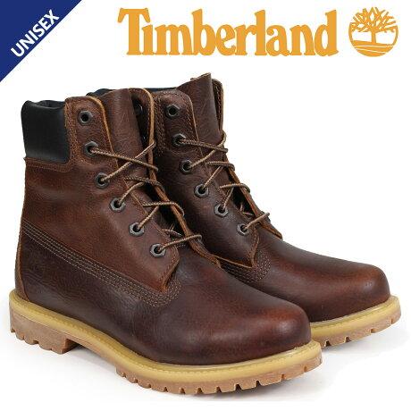 ティンバーランド Timberland ブーツ 6インチ レディース 6-INCH PREMIUM BOOTS Wワイズ ブラウン A1TLM [予約商品 3/19頃入荷予定 追加入荷]