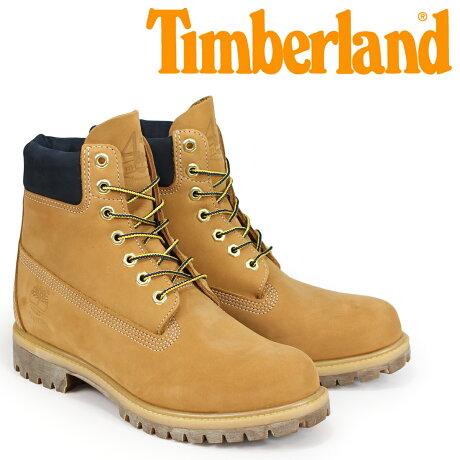ティンバーランド ブーツ メンズ 6インチ Timberland 6-INCH WATERPROOF PREMIUM BOOTS A1VXW Wワイズ ウィート