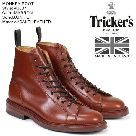 トリッカーズ Tricker's モンキーブーツ MONKEY BOOT M6087 5ワイズ メンズ [予約商品 10/18頃入荷予定 追加入荷]