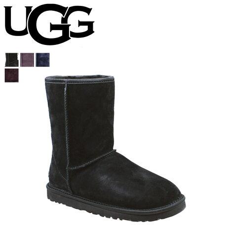 UGG アグ ムートンブーツ クラシック ショート クリスタル ボウ WOMENS CLASSIC SHORT CRYSTAL BOW 1006698 シープスキン レディース