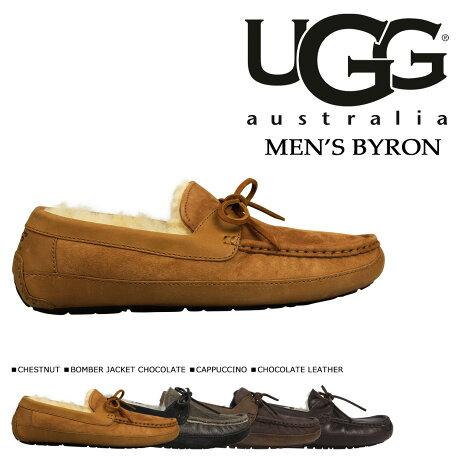 UGG アグ モカシン メンズ スリッポン ムートン シューズ バイロン MENS BYRON 5102 5102A 5161 1001545 シープスキン