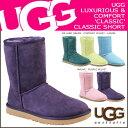 UGG アグ ムートンブーツ クラシック ショート WOMENS CLASSIC SHORT 5825 シープスキン レディース 【S10】【返品不可】
