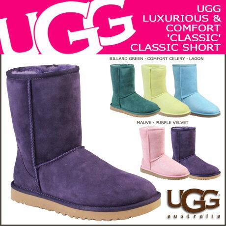 UGG アグ ムートンブーツ クラシック ショート WOMENS CLASSIC SHORT 5825 シープスキン レディース